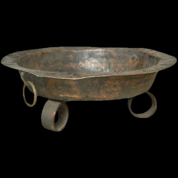 Colonial Cooking Vessel 18th Century 1